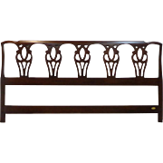 Councill Craftsmen - Solid Mahogany - King Size Headboard- Circa 1980