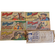 Gene Autry Comics - Quaker Puffed Wheat/Rice Promo Set - 1950
