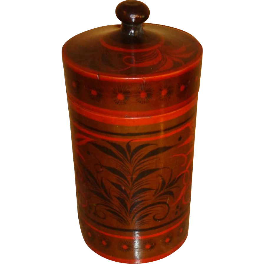 Russian Canister/Box Antique Imperial - Hand Crafted