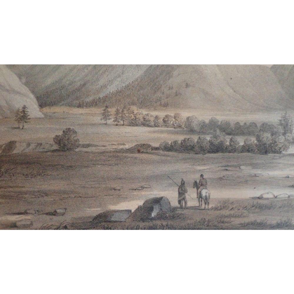"""USPRR RR Survey - Stanley Del - Litho. """" Bois De' Sioux """""""