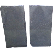 """Vintage Roofing Slate Pieces - 22"""" x 11"""""""