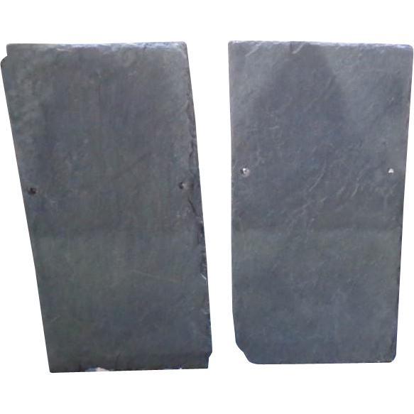 "Vintage Roofing Slate Pieces - 22"" x 11"""