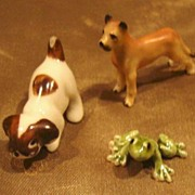 5 Bone China Dollhouse Animals