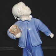 "Bing and Grondahl ""Who Is Calling""Figurine #2251"