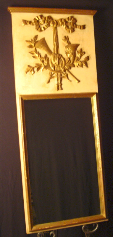 Italian Gold Gilt Mirror - Vintage
