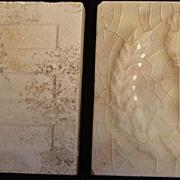 Vintage Majolica Tile