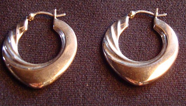 Sterling Art Deco Style Earrings
