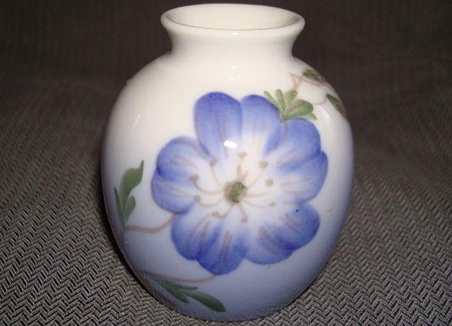 Royal Copenhagen Mini Floral Vase