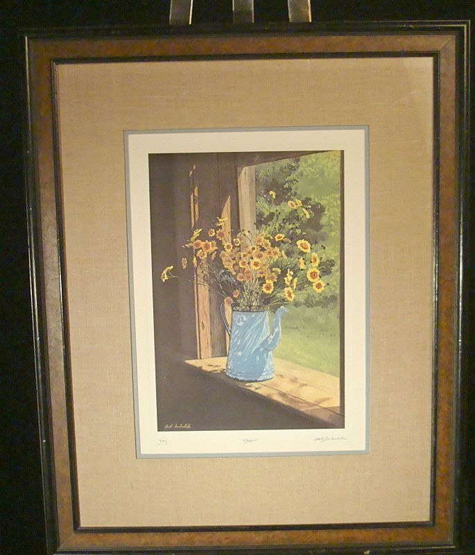 "Bob Timberlake Signed and Numbered Print ""July"""