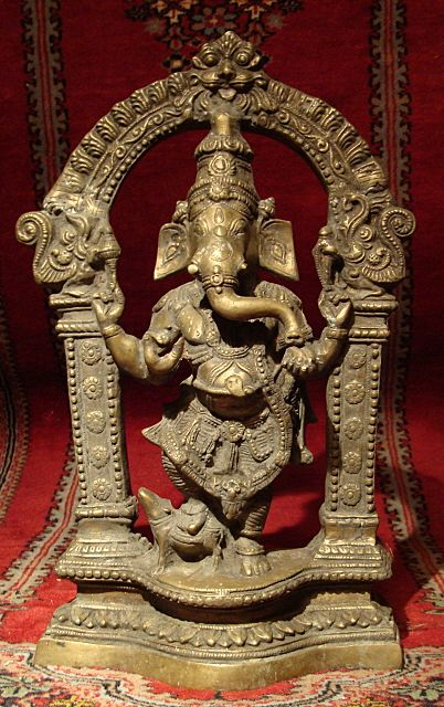 Solid Bronze Ganesha