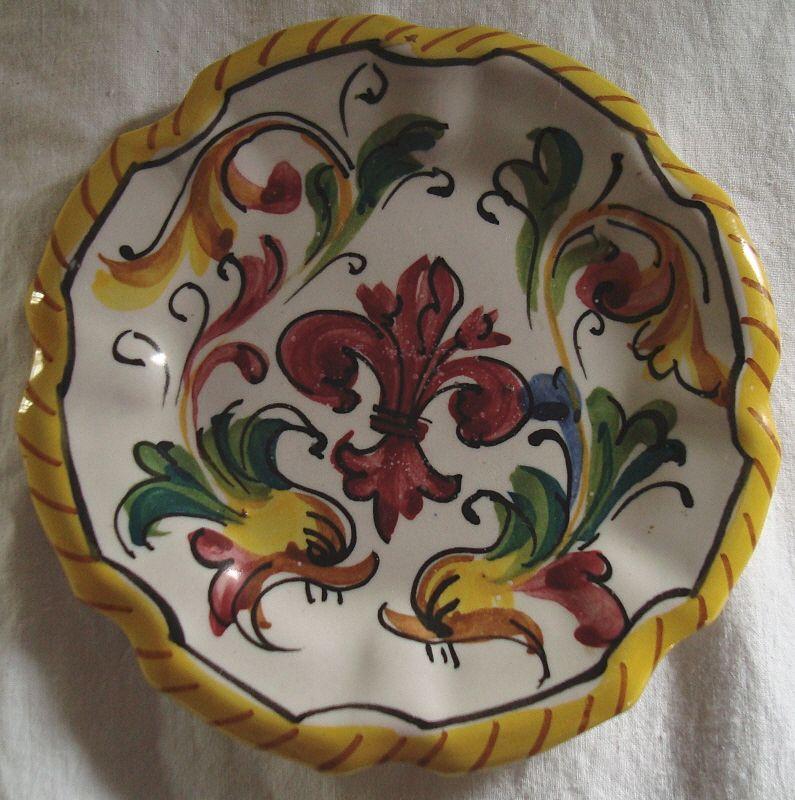 Vintage Italian Deruta Majolica Butter-Pat