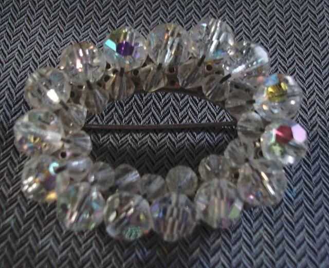 Vintage Aurora Borealis Brooch Pin