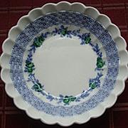 Rare Spode Blue Belle Dessert Bowl
