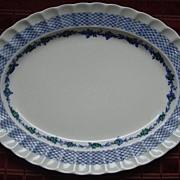 Rare Spode Blue Belle Pattern China Platter