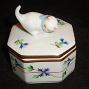Herend trinket box