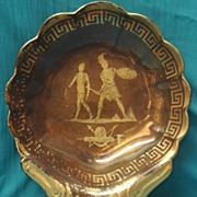 Copper Luster Historical Bowl