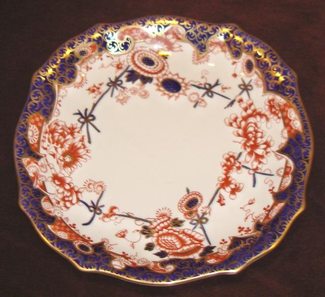 Royal Crown Derby Imari style cake plate