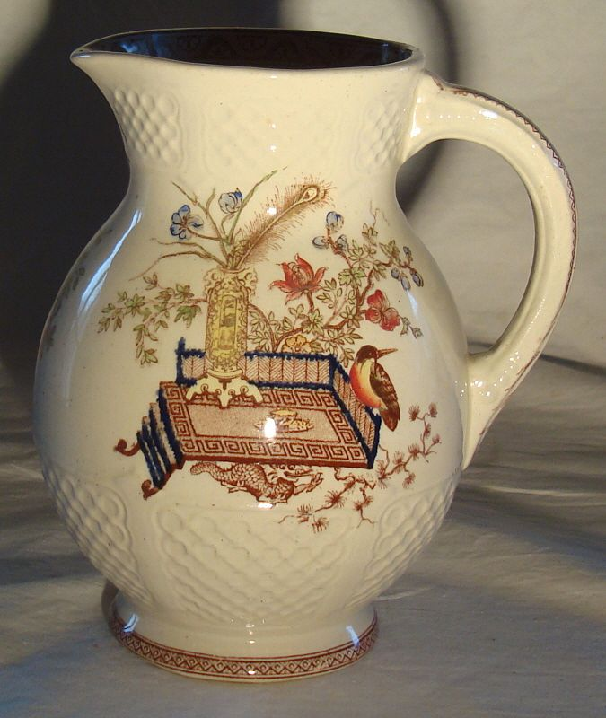 Ridgways Pottery Small Water Pitcher