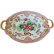 Early 19th c French Rouen plate
