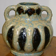 French vase with crystalline glaze