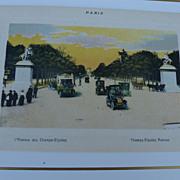 Paris Souvenir print