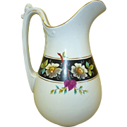19th century Ironstone Pitcher