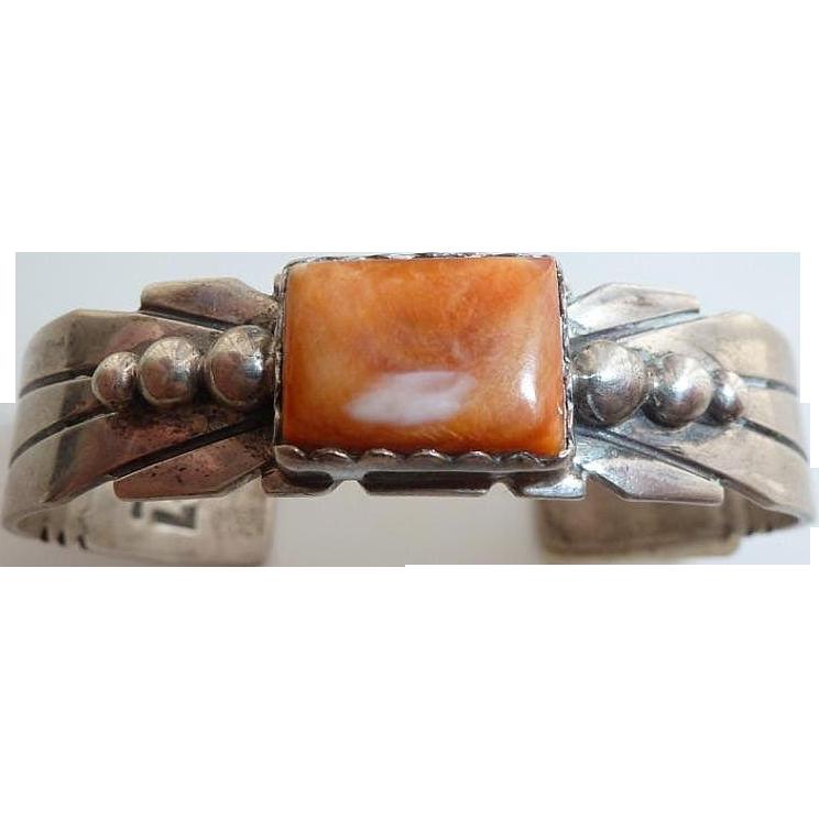Santo Domingo Sterling silver cuff bracelet