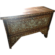 Late 19th to early 20th century Syrian chest