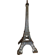 Vintage brass eiffel tower