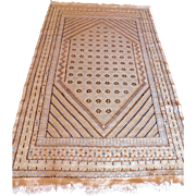 Vintage Tunisian kilim