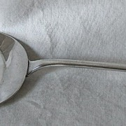 English Sterling Pancake/Hot Cake Server – 1893