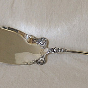 Sterling Fish knife – Wallace – ROSE – Ca. 1898