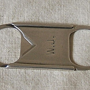Sterling Cigar Cutter – Pat. 1902