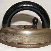Miniature  Sadiron – 2 piece – Ca. 1900