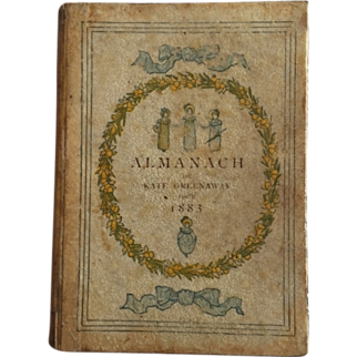 Kate Greenaway 1883 miniature book months and seasons