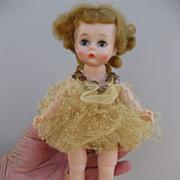Alexander-kins 1959 Gold Ballerina Lay-away Pamela G.