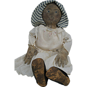 Artist Made Primitive Cloth Doll