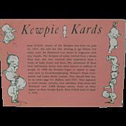 Kewpie Kards