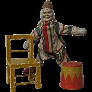 Schoenhut Clown, Tub and Chair