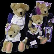 """North American Muffie Vanderbear  """"Musical Soiree"""", 5 Bears"""