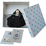 Nancy Ann Storybook Hard Plastic Religious Series Nun