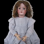 """Big 30"""" #109 Heinrich Handwerck German Bisque Doll"""