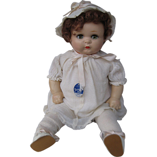 "21"" Composition Georgene Novelties Baby Doll"