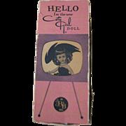 Arranbee Coty Girl Fashion Doll In Original Box