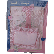 MIB Kitty Motif Bed-E-Bye Set For Tiny Tears, Dy Dee, etc.