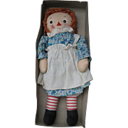 Georgene Raggedy Ann in Original Box and Andy, too.