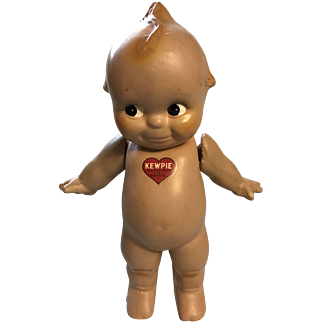 """11"""" 1930's-1940's Rose O'Neill Composition Kewpie"""