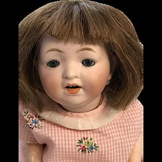 "11"" Bisque Character Morimura Japanese Baby"