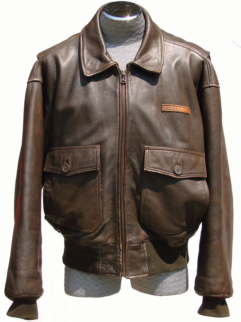 Vintage 1980s Avirex G-1 Leather Flight Jacket // Naval Pilot ...