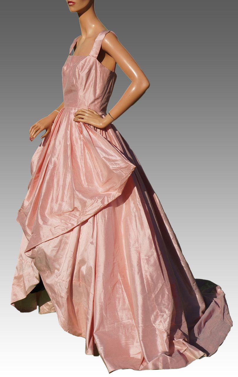 Vintage 40s Madeleine Vramant Dress // 1940s Parisian Haute ...